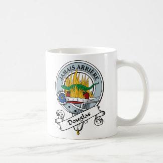 Douglas Clan Badge Classic White Coffee Mug