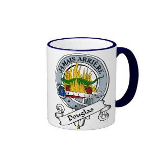 Douglas Clan Badge Ringer Coffee Mug