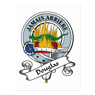 Douglas Clan Badge Post Cards