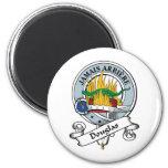 Douglas Clan Badge Refrigerator Magnet