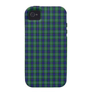 Douglas Clan Family Tartan Vibe iPhone 4 Covers