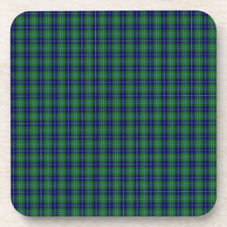 Douglas Clan Family Tartan Drink Coaster
