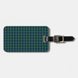 Douglas Clan Family Tartan Luggage Tags