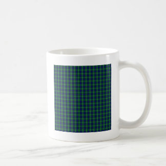 Douglas Clan Family Tartan Classic White Coffee Mug