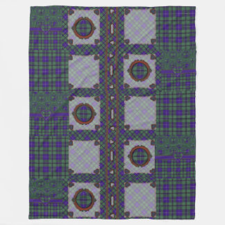 Douglas clan Plaid Scottish tartan Fleece Blanket