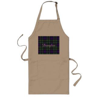 Douglas clan Plaid Scottish tartan Long Apron