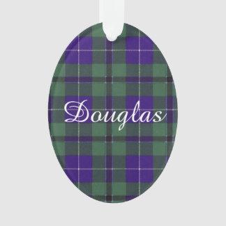 Douglas clan Plaid Scottish tartan Ornament