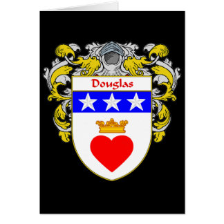 Douglas Coat of Arms (Mantled) Card