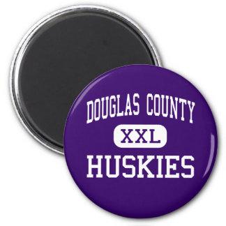 Douglas County - Huskies - High - Castle Rock Refrigerator Magnets