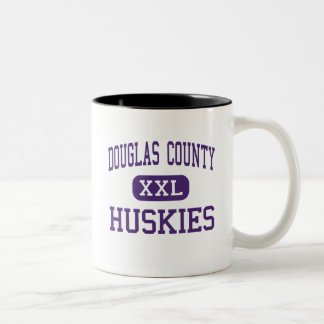 Douglas County - Huskies - High - Castle Rock Two-Tone Coffee Mug