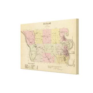 Douglas County, Nebraska Stretched Canvas Prints
