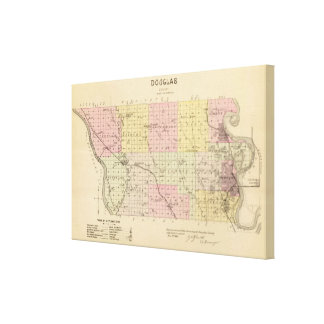 Douglas County, Nebraska Canvas Print