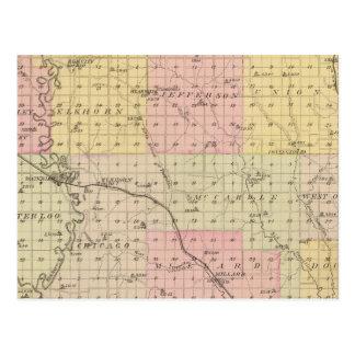 Douglas County, Nebraska Postcard