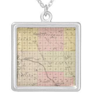 Douglas County, Nebraska Silver Plated Necklace