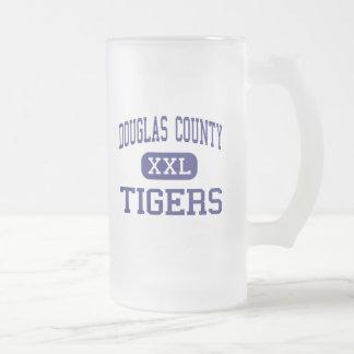 Douglas County - Tigers - High - Douglasville 16 Oz Frosted Glass Beer Mug