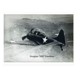 Douglas Dauntless-2 Post Card