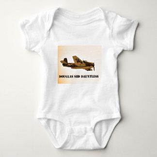 Douglas Dauntless World War 2 fighter Aircraft Baby Bodysuit