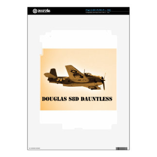 Douglas Dauntless World War 2 fighter Aircraft Decal For The iPad 2