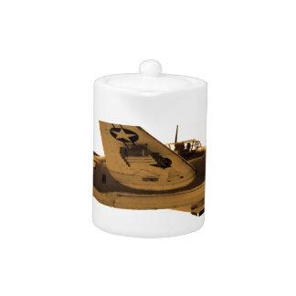 Douglas Dauntless World War 2 fighter Aircraft Teapot