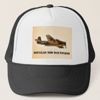 Douglas Dauntless World War 2 fighter Aircraft Trucker Hat