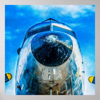 Douglas DC-3 Aircraft Poster