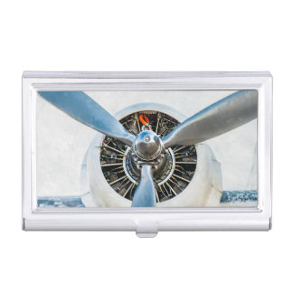 Aviation business card holders cases zazzle for Airplane business card holder