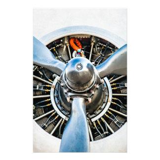 Douglas DC-3 Aircraft. Propeller Flyer