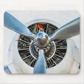 Douglas DC-3 Aircraft. Propeller Mouse Pad