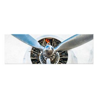 Douglas DC-3 Aircraft. Propeller Photo Print