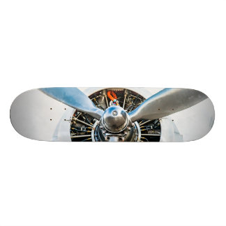 Douglas DC-3 Aircraft. Propeller Skateboard Deck