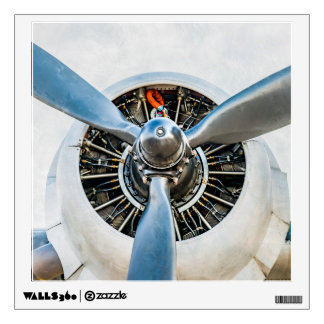 Douglas DC-3 Aircraft. Propeller Wall Sticker