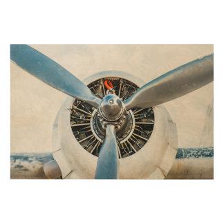 Douglas DC-3 Aircraft. Propeller Wood Wall Art