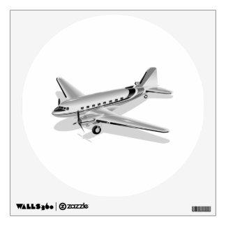 Douglas DC-3 Airplane Wall Sticker