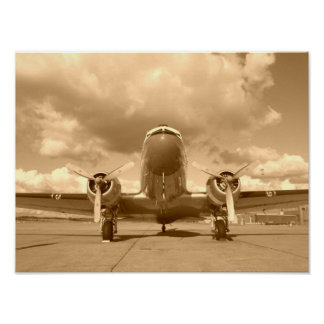Douglas DC-3 Dakota / C-47 Poster