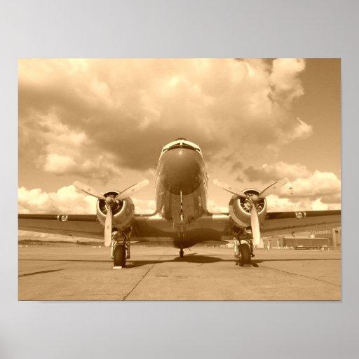Douglas DC-3 Dakota/C-47 Póster