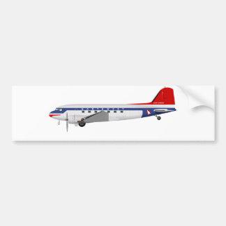 Douglas DC-3 Skytrain Northwest Airlines Bumper Sticker