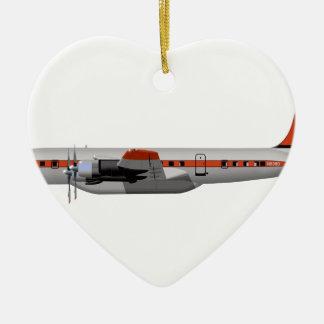 Douglas DC-7B Slurry Tanker 404404 Ceramic Ornament