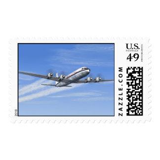 Douglas DC-7C Stamps