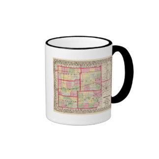 Douglas, Edgar, Coles, Cumberland, Clark counties Ringer Coffee Mug