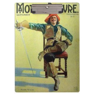 Douglas Fairbanks 1921 silent movie magazine Clipboards