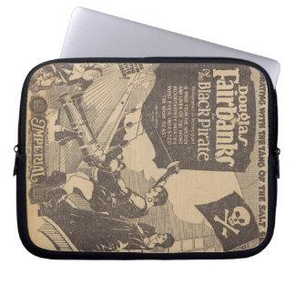 Douglas Fairbanks Billie Dove 1926 Black Pirate Laptop Sleeve