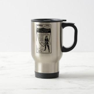 Douglas Fairbanks Robin Hood 1923 15 Oz Stainless Steel Travel Mug
