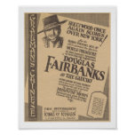 Douglas Fairbanks The Gaucho 1927 world premiere Posters