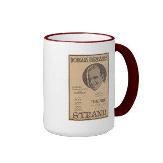 Douglas Fairbanks The Nut movie advertisement Ringer Coffee Mug
