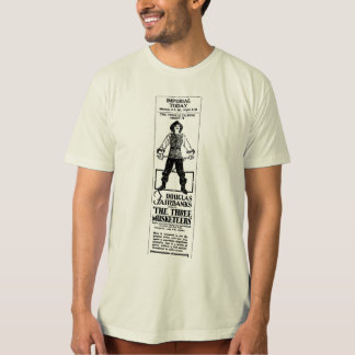 Douglas Fairbanks THREE MUSKETEERS 1921 T-Shirt