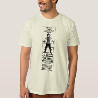 Douglas Fairbanks THREE MUSKETEERS 1921 Tee Shirt
