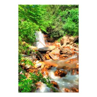 Douglas Falls West Virginia Photographic Print