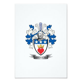Douglas Family Crest Coat of Arms Card