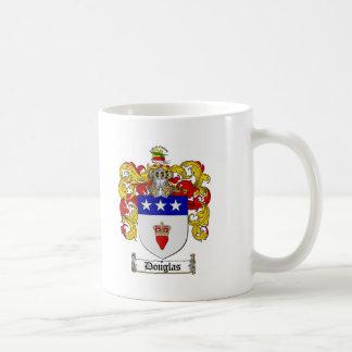 DOUGLAS FAMILY CREST -  DOUGLAS COAT OF ARMS CLASSIC WHITE COFFEE MUG