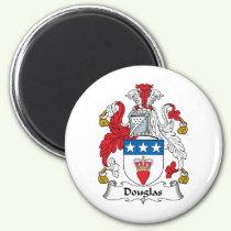 Douglas Family Crest Magnet